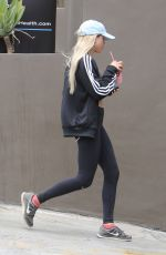SOFIA RICHIE in Tank Top Out in West Hollywood 05/20/2016