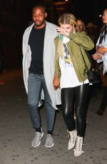 SOFIA RICHIE Night Out in New York 04/30/2016