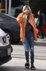 SOFIA RICHIE Out Shopping in West Hollywood 05/05/2016