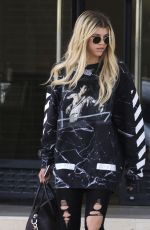 SOFIA RICHIE Shopping at Barneys New York in Beverly Hills 05/25/2016