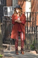 SOFIA SANCHEZ on the Set of a Photoshoot in New York 05/20/2016