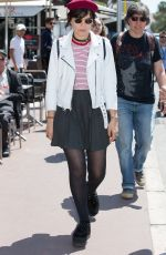 SOKO Out and About in Cannes 05/16/2016