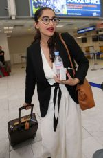SONAM KAPOOR at Nice Airport 05/21/2016