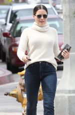 SOPHIA BUSH Out and About in Los Angeles 05/20/2016