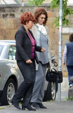 SOPHIA LOREN at a Clinic in Rome 05/10/2016