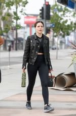 SOPHIE BUSH Leaves a Pilates Class in West Hollywood 05/13/2016