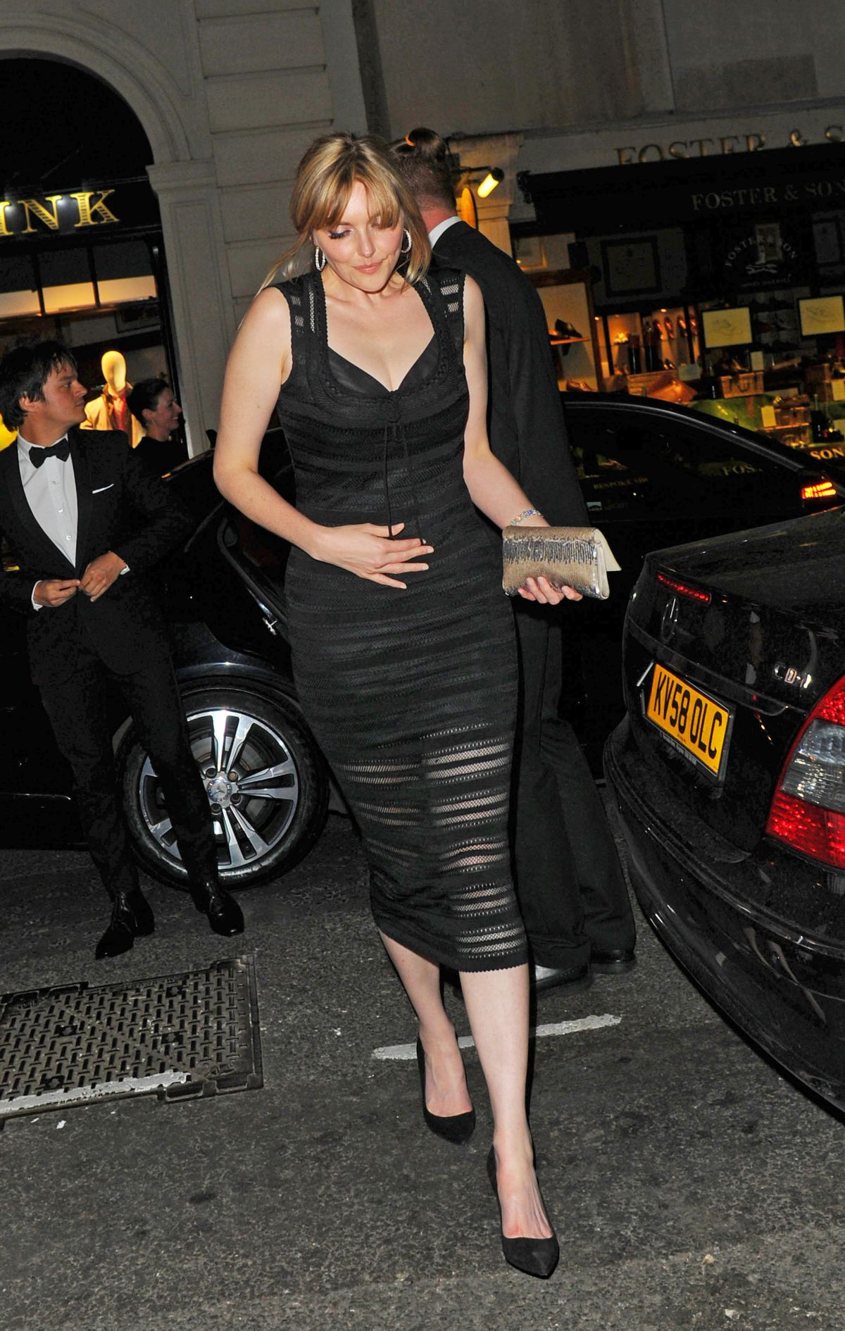 Sophie Dahl At Vogue 100th Anniversary Gala Dinner In