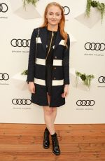 SOPHIE TURNER at Audi Polo Challenge at Coworth Park in Berkshire 05/29/2016