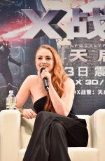 SOPHIE TURNER at X-Men: Apocalypse Conference at Tsinghua University in Beijing 05/18/2016