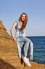 SOPHIE TURNER in Asos Magazine, Summer 2016