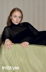SOPHIE TURNER in Instyle Magazine, UK July 2016 Issue