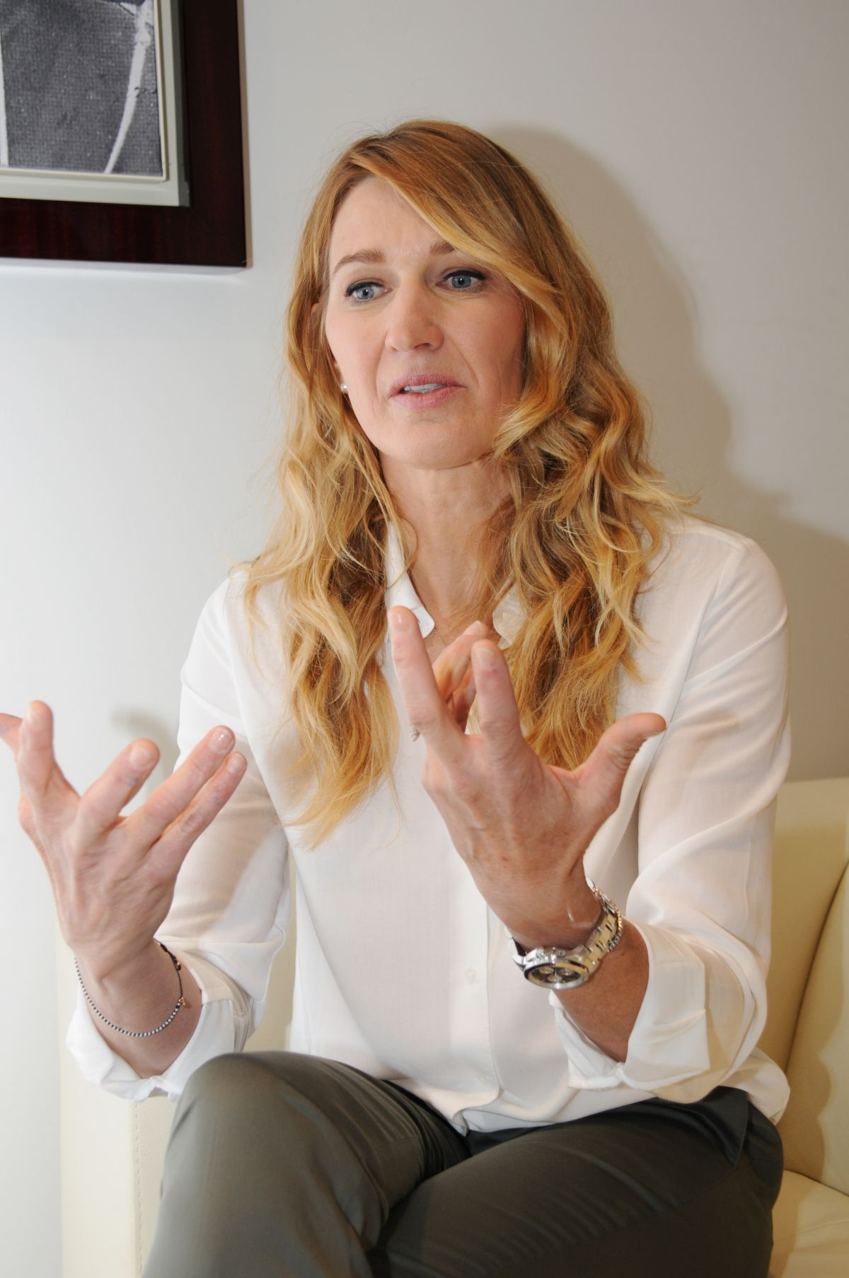 Images Steffi Graf Awesome steffi graf at boutique longines in paris 05/25/2016 - hawtcelebs