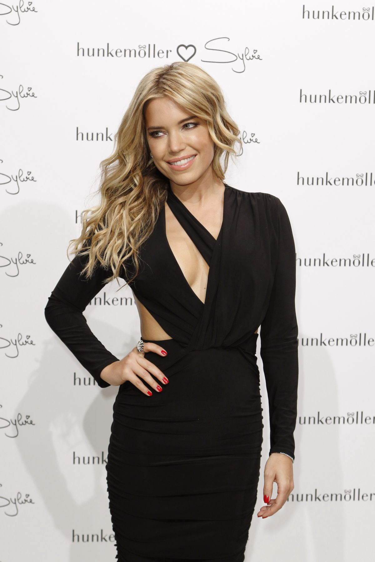 SYLVIE MEIS at Hunkemoeller Loves Sylvie