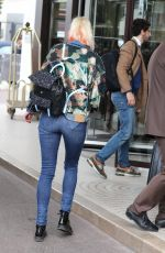 TATIANA DYAGILEVA Arrives at Martinez Hotel in Cannes 05/11/2016