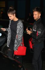 TAYLOR HILL Leaves Bowery Hotel in New York 04/30/2016