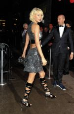TAYLOR SWIFT Leaves Met Gala After-party in New York 05/02/2016