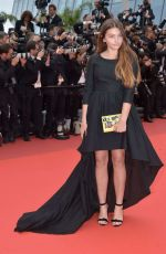THYLANE BLONDEAU at The BFG Premiere at 69th Cannes Film Festival 05/14/2016