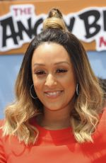 TIA MOWRY at 'The Angry Birds Movie' Premiere in Westwood 05/07/2016