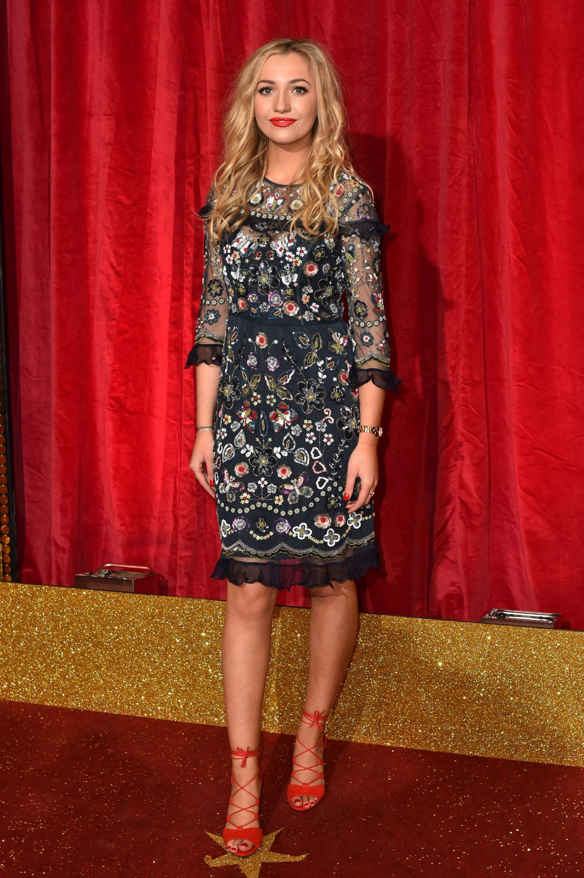 TILLY KEEPER at British Soap Awards 2016 in London 05/28/2016