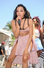 TINASHE at Iheartradio Summer Pool Party in Miami Beach 05/21/2016