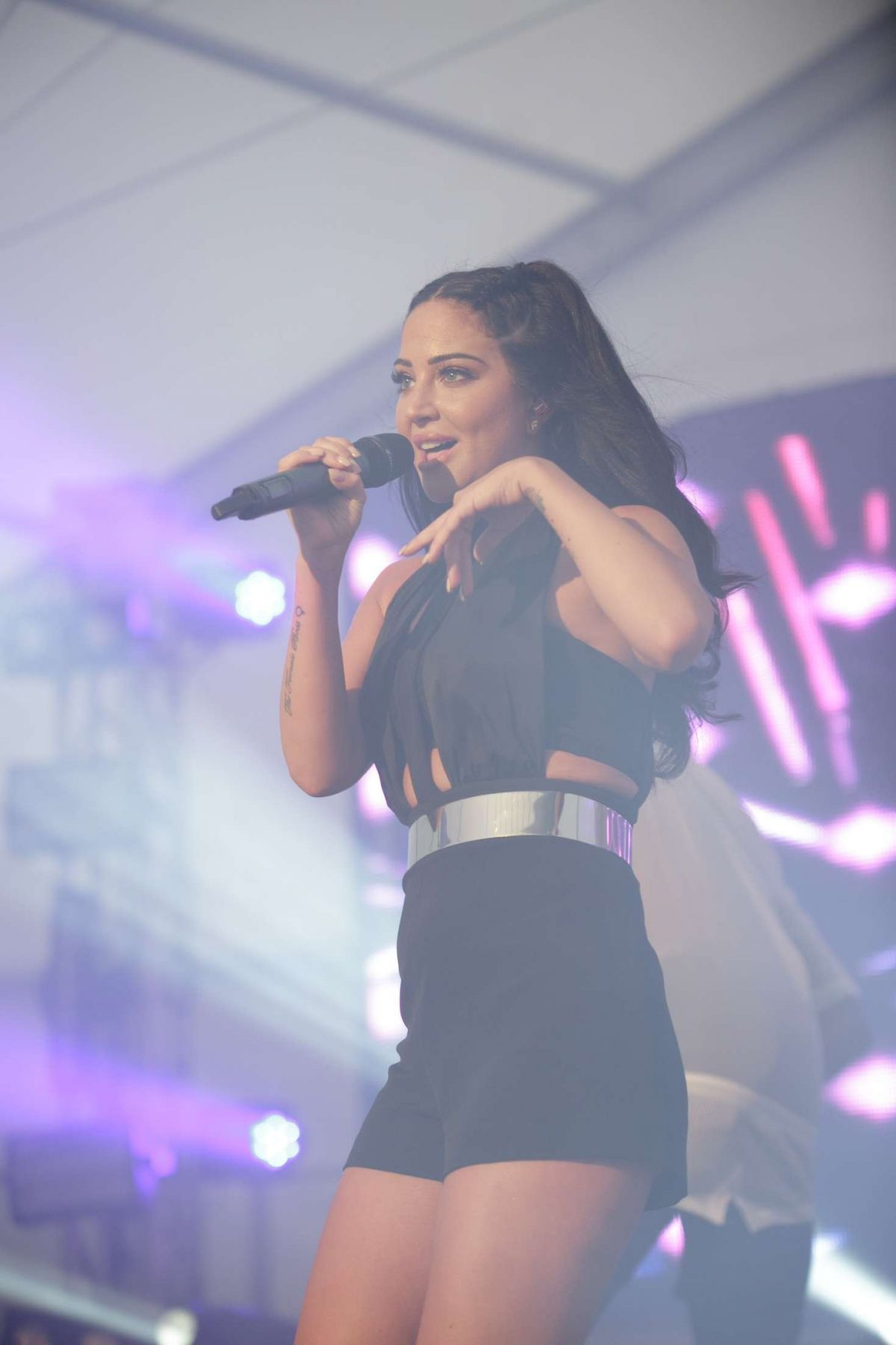 TULISA CONTOSTAVLOS Performs at Birmingham Pride 05/28/2016
