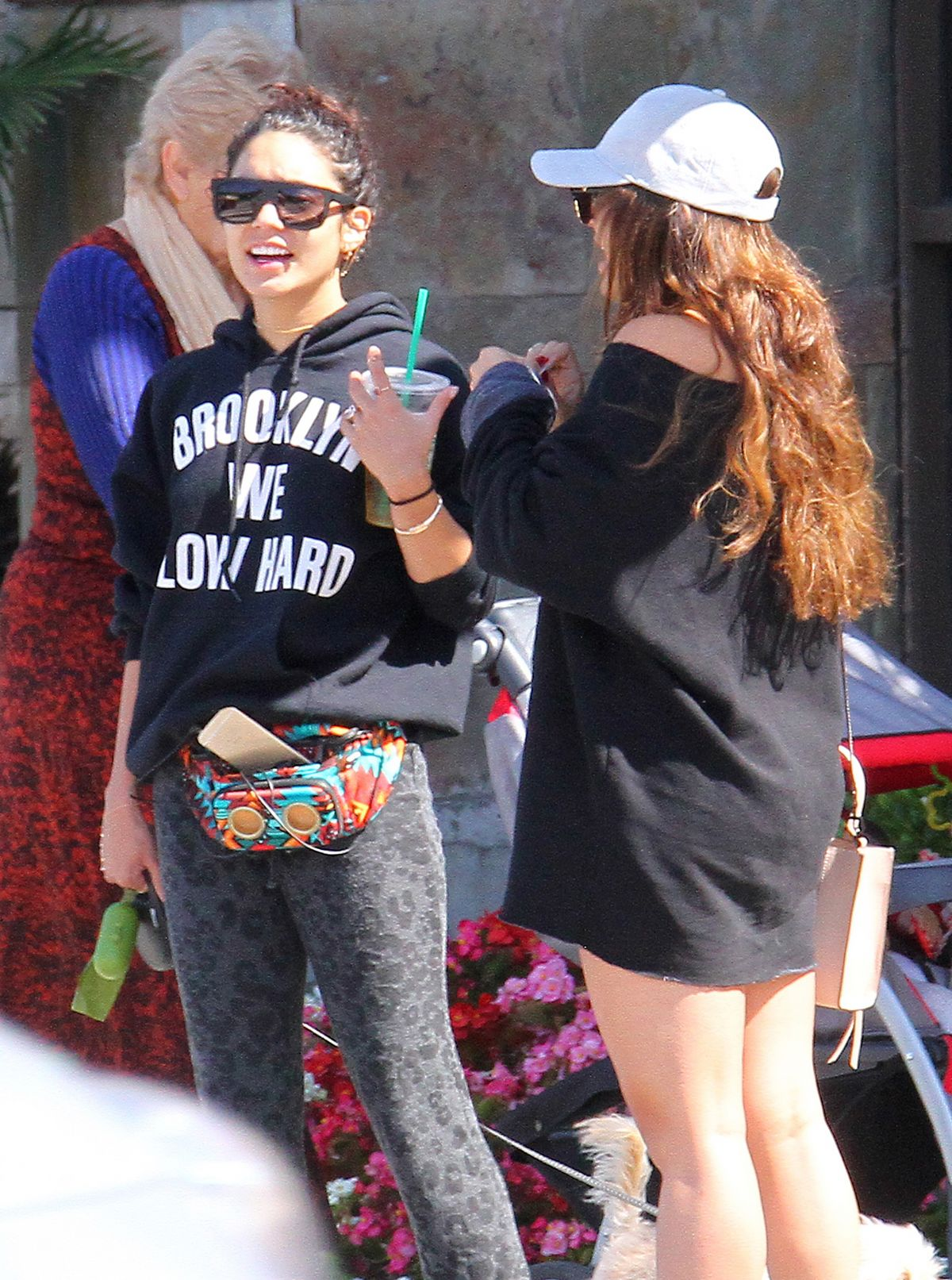 VANESSA and STELLA HUDGENS Out in Los Angeles 05/12/2016