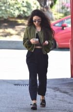 VANESSA HUDGENS at a Gas Station in Studio City 05/23/2016
