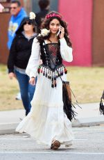 VANESSA HUDGENS at Renaissance Pleasure Faire in Irwindale 05/07/2016
