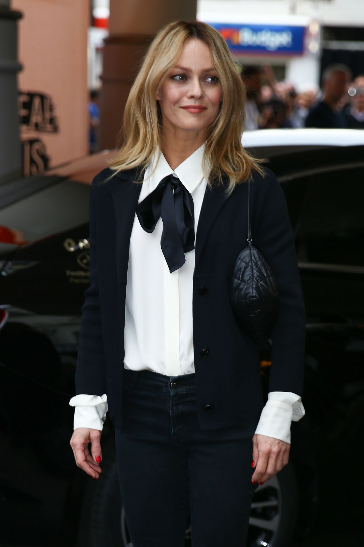 VANESSA PARADIS Arrives at Hotel Martinez in Cannes 0/510/2016