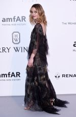 VANESSA PARADIS at Amfar's 23rd Cinema Against Aids Gala in Antibes 05/19/2016