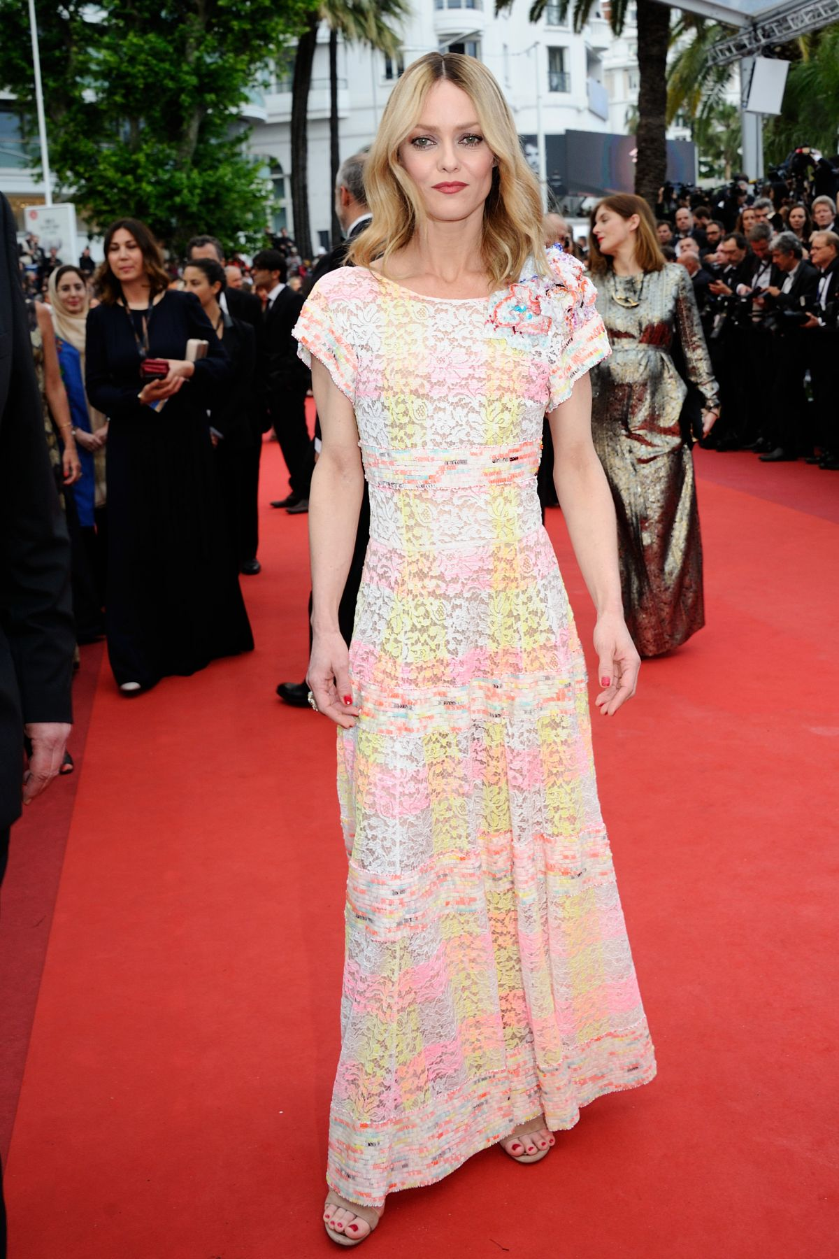 VANESSA PARADIS at 'Cafe Society' Premiere and 69th Cannes Film Festival Opening 05/11/2016