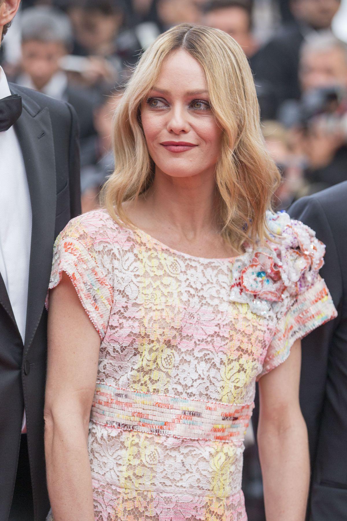 VANESSA PARADIS at 'Cafe Society' Premiere and 69th Cannes ... Vanessa Paradis