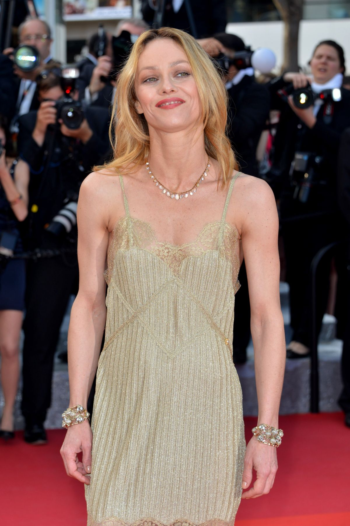 VANESSA PARADIS at 'The Unknown Girl' Premiere at 69th ... Vanessa Paradis