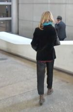 VANESSA PARADIS Smokes a Cigarette at LAX Airport in Los Angeles 05/25/2016