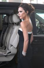 VICTORIA BECKHAM Leaves Hotel Martinez in Cannes 05/11/2016