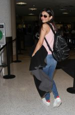 VICTORIA JUSTICE at Los Angeles international Airport 05/26/2016