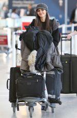 VICTORIA JUSTICE at Pearson International Airport in Toronto 04/29/2016