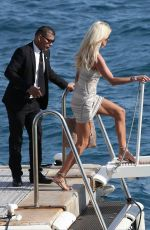 VICTORIA SILVSTED Arrives at Eden Roc Hotel in Antibes 05/20/2016