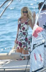 VICTORIA SILVSTED at Eden Roc Hotel in Antibes 05/16/2016