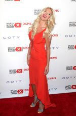 VICTORIA SILVSTEDT at 10th Annual Delete Blood Cancer dkms Gala in New York 05/05/2016