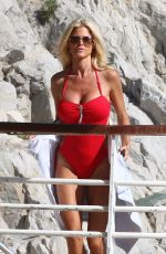 VICTORIA SILVSTEDT in Swimsuit at Her Hotel in Vannes 05/21/2016