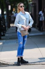 WHITNEY PORT Out in New York 05/25/2016