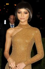 ZENDAYA COLEMAN at Costume Institute Gala 2016 in New York 05/02/2016