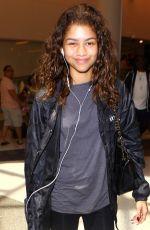 ZENDAYA COLEMAN at Los Angeles International Airport 05/01/2016