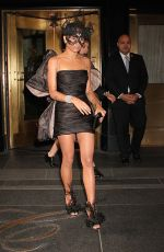 ZOE KRAVITZ Leaves Her Hotel in New York 05/02/2016