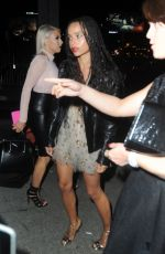 ZOE KRAVITZ Night Out in West Hollywood 05/18/2016