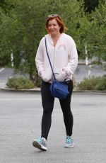 aALYSON HANNIGAN Out in Brentwood 06/09/2016