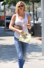 ADRIANNE PALICKI Out and About in Beverly Hills 06/17/2016