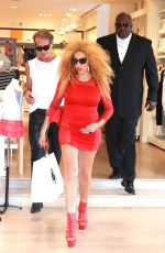 AFIDA TURNER Shopping at Petit Bateau in Beverly Hills 06/05/2016