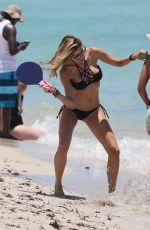 AIDA YESPICA in Bikinit on the Beach in Miami 06/29/2016